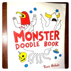 👾Like NEW! Monster Doodle Book 👾